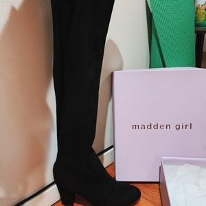 Madden Girl - Knee Length Boots